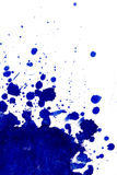Blue splatter Royalty Free Stock Images