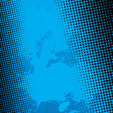 Blue Splatter Halftone Background Royalty Free Stock Photo