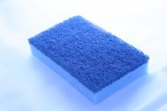 Blue sponge Royalty Free Stock Photos