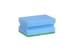 Blue sponge Royalty Free Stock Images