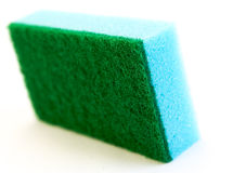 Blue sponge Stock Images