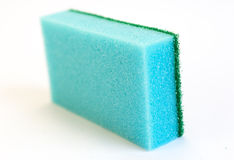 Blue sponge Royalty Free Stock Photo