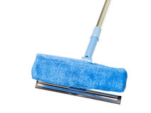 Blue sponge mop with Royalty Free Stock Image