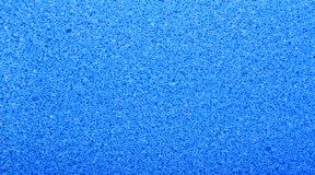 Blue sponge structure Stock Images