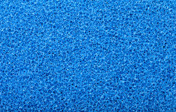 Blue sponge texture Royalty Free Stock Image