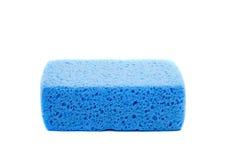 Blue sponge Stock Photography