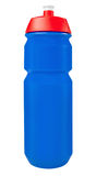 Blue sport drinking bottle Stock Photography