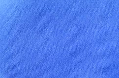Blue sport jersey shirt clothing texture and backgroun. D Royalty Free Stock Image