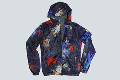 Blue sport mens  coat Stock Photography