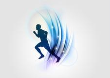 Blue sport Stock Photo