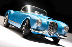 Blue sports car Royalty Free Stock Photos