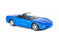 A blue sports car Stock Images