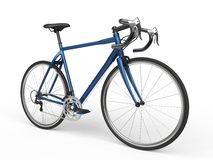 Blue sports race bicycles Royalty Free Stock Photo