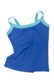 Blue sports  tee shirt Royalty Free Stock Photo
