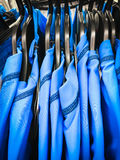 Blue sports tops Stock Photos