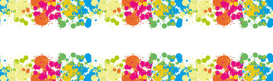 Free Blue Spot Green Stain Pink Smudge Orange Blot Yellow Smear Dab And Blotch Seamless Wallpaper Blur Border Colored Blots On The Whit Royalty Free Stock Photos - 78513248