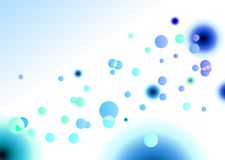 Blue Spot Lights Background Vector Stock Photo