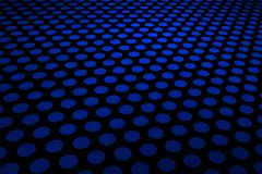 Blue Spot Pattern Royalty Free Stock Photos