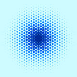 Blue Spot Pattern Royalty Free Stock Photography