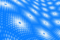 Blue Spot Pattern Stock Photo
