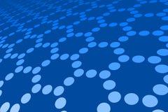 Blue Spot Pattern Stock Photography