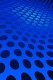 Blue Spot Pattern Stock Photo