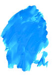 Blue spot on a white background Royalty Free Stock Photo