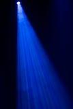 Blue spotlight Stock Photo