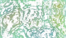 Blue spots like puddles of water. Yellow, green and white combination Stock Photography