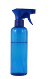 Blue spray bottle Stock Images