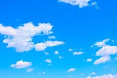Blue spring sky stock image
