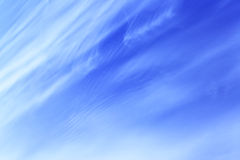 Blue spring sky Stock Photography