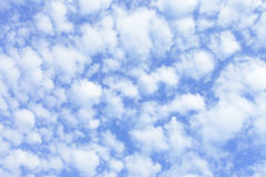 Blue spring sky Royalty Free Stock Photos