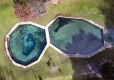 Blue Springs Алабама - антенна Стоковая Фотография RF