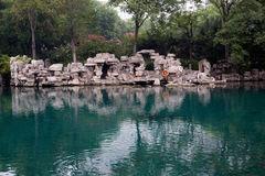 Blue springs Stock Photo