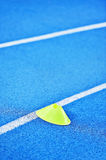 Blue sprint track Royalty Free Stock Image
