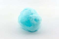 Blue spun sugar. Royalty Free Stock Photo