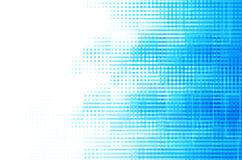 Blue square abstract background Royalty Free Stock Image