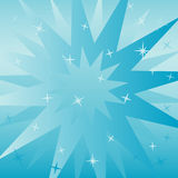 Blue square background Royalty Free Stock Photography
