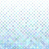 Blue square background - vector illustration Stock Photo