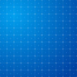 Blue square grid backdrop Royalty Free Stock Image