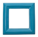 Blue Square Modern Vibrant Colored Empty Frame Royalty Free Stock Images