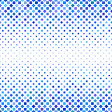 Blue square pattern background design. Blue abstract square pattern background design - vector illustration Royalty Free Stock Photo