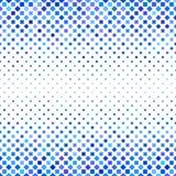 Blue square pattern background design. Blue abstract square pattern background design - vector illustration royalty free illustration