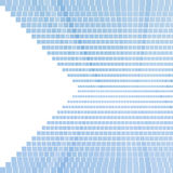 Blue square pattern. Pixel mosaic background with. Copy space Royalty Free Stock Photo