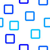 Blue square pattern Royalty Free Stock Photography