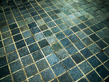 Blue Square Stone Stock Photography