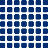 Blue Squares. Square shaped grid made up of blue squares Royalty Free Stock Image