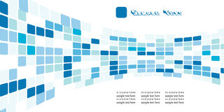 Blue squares Stock Photography