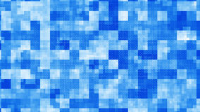 Blue squares abstract geometric background. Blue squares. Computer generated abstract geometric background royalty free illustration